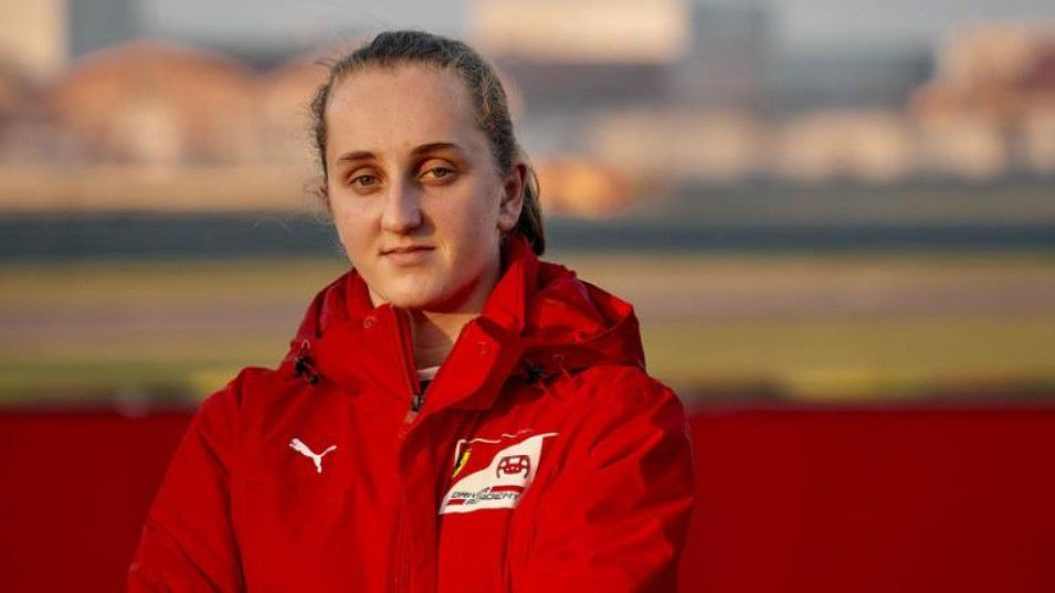 Maya Weug makes history as first female driver to join the Ferrari Driver Academy