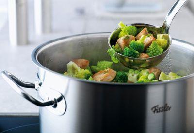 It's in the pot