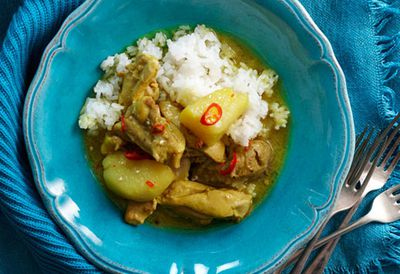 Creamy Malaysian chicken curry