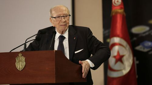 Tunisian President Beji Caid Essebsi, 92, was the oldest elected leader in the world until his death overnight.