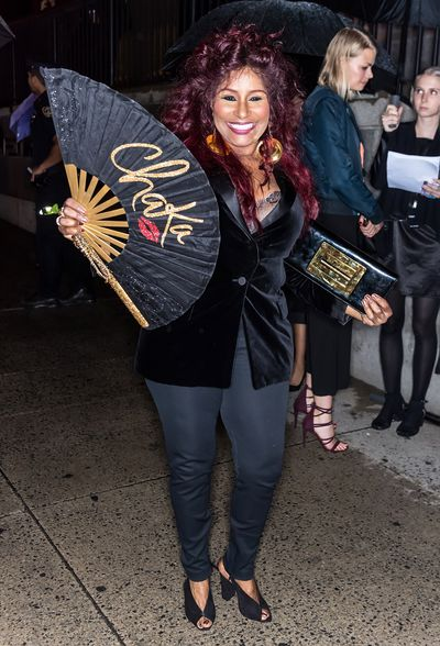 Chaka Khan at the 'F**cking Fabulous' party at New York Fashion Week, September 2017