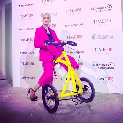 Selma Blair, Time 100 Health Summit, event, multiple sclerosis, walker, bike