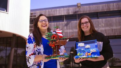 Meet LEGO Masters 2020 team: Jennifer and Jodie