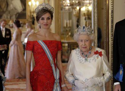 Queen Ena's Fleur-de-Lys tiara