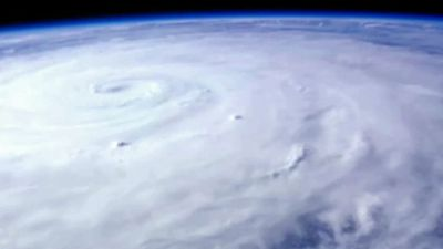 <p>Typhoon Soudelor has now made landfall in Taiwan where it is expected to unleash wind speeds of up to 170 km/h and heavy rains.</p><p>Authorities issued a land warning on Thursday and shelters have been established for stranded tourists and civilians. </p><p>A satellite image of typhoon Soudelor.</p>