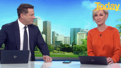 Stefanovic urges Deborah Knight to call her son back on-air.