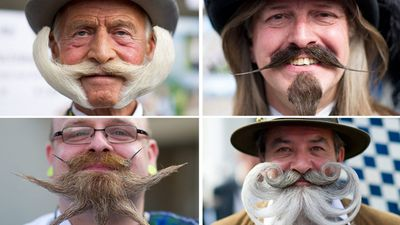 <p>More than 300 bearded men have unveiled their best bristles at the World Beard and Moustache Championships in Austria.</p><p><strong>Click through for some of the better entries.</strong></p>