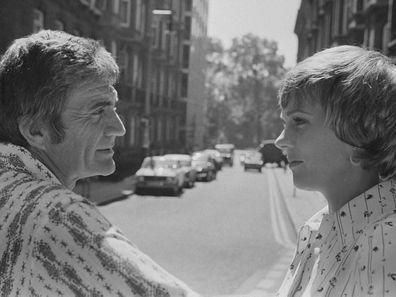 Julie Andrews and Blake Edwards in 1973.