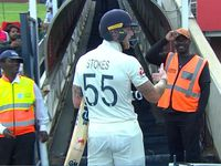 Stokes loses his cool at a fan