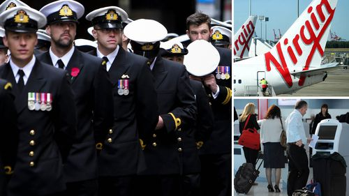 "A leading veterans' group says Virgin's plans to offer ex-service men and women priority boarding and in-flight thanks ""smacks of tokenism""."
