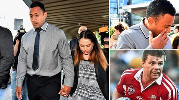 Ex Bronco cries in court over tackle that killed young dad