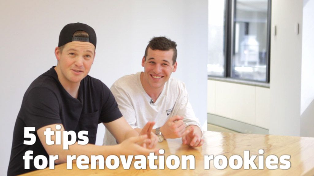 5 tips for renovation rookies