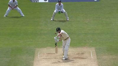 Adam Voges is caught behind