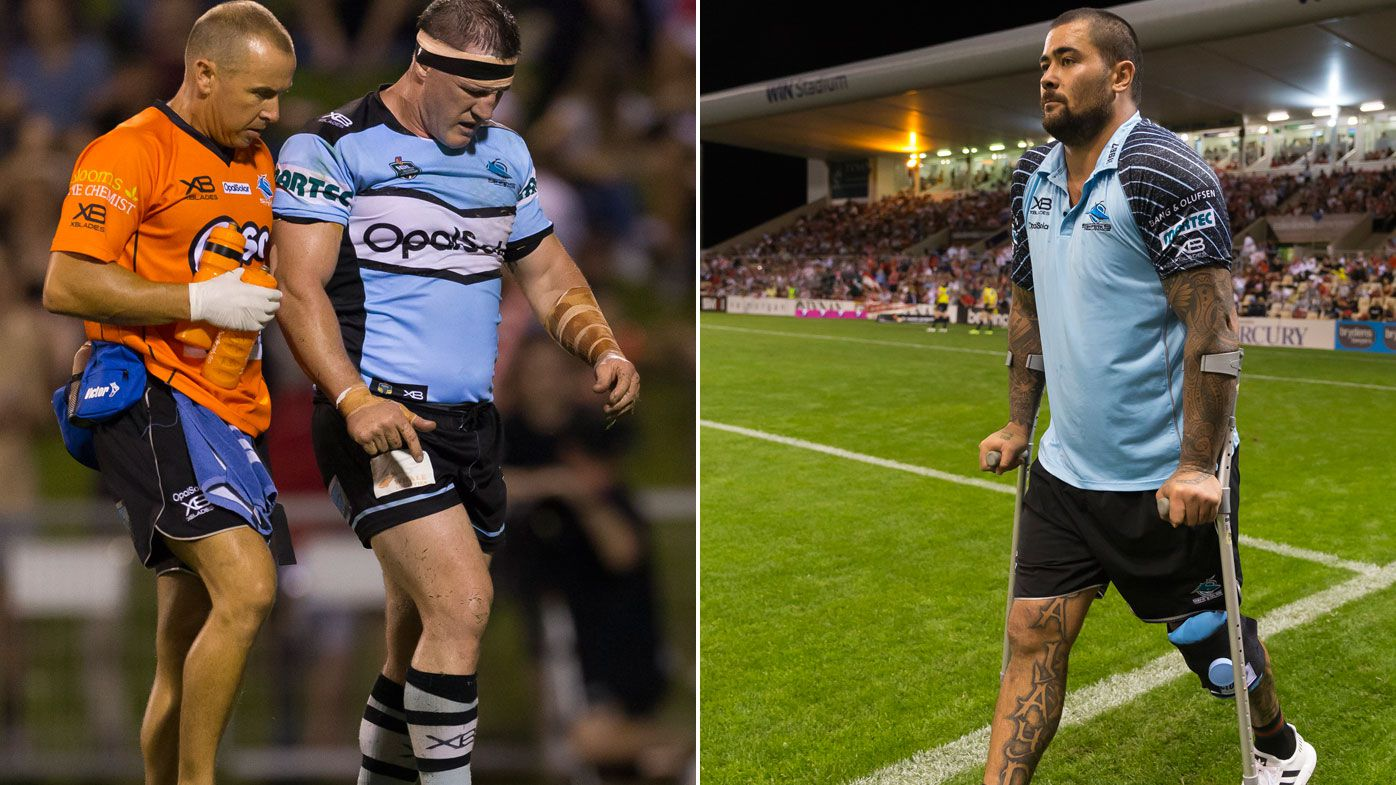 Fifita cleared but Sharks face shortage