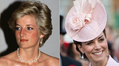 Diana's Collingwood pearl earrings
