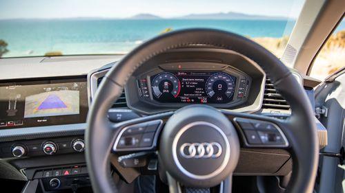 Audi's new all digital cluster.