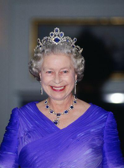 The Sapphire and Diamond tiara