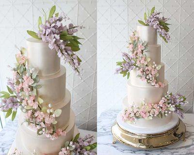4. Modern sugar flowers