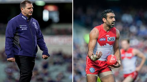 Dockers coach Ross Lyon says Perth booing of Adam Goodes 'disappointing'