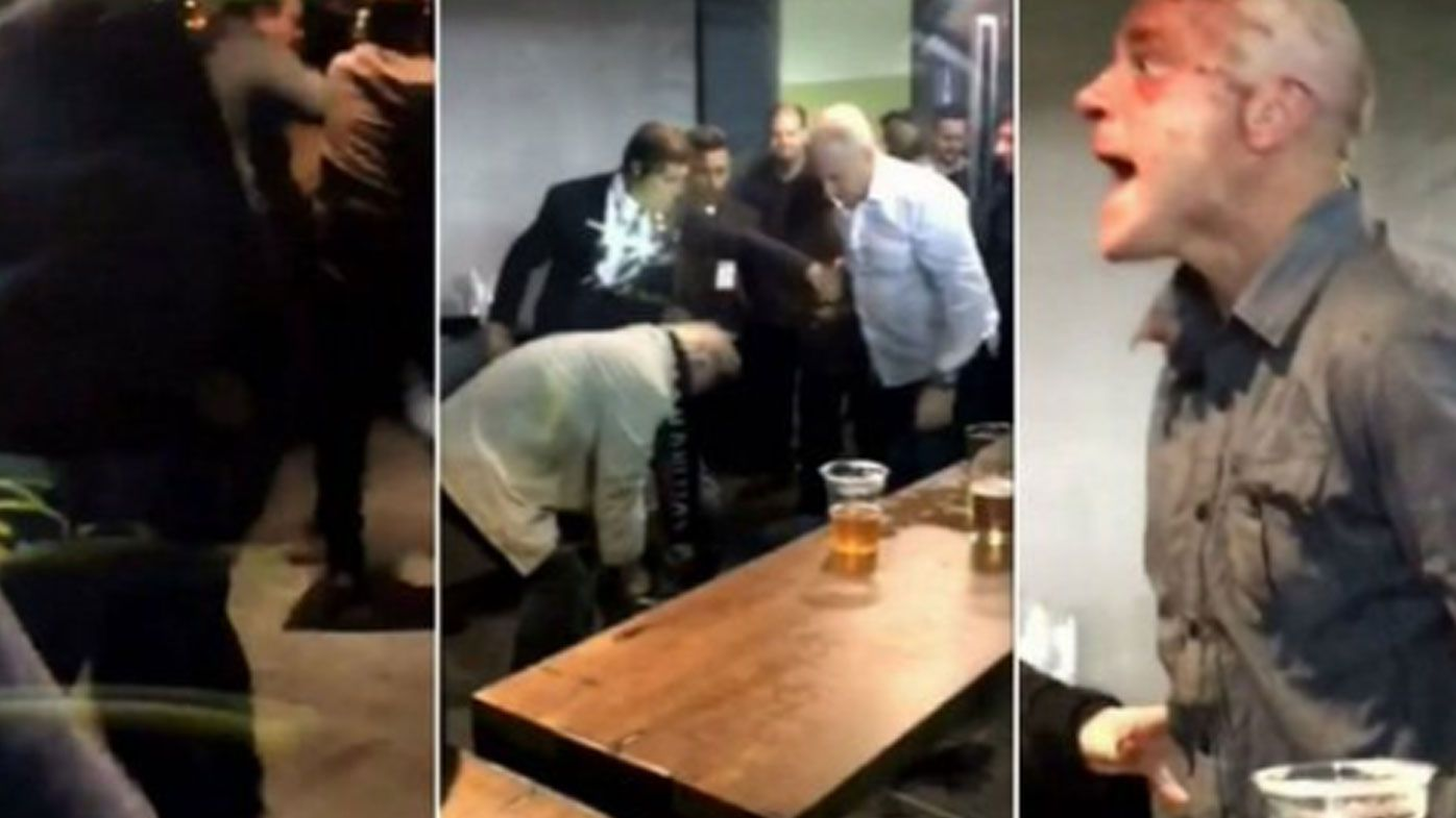 Etihad Stadium issue lifetime ban on brawling AFL fan