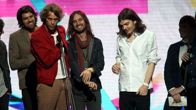 Tame Impala at ARIA Awards 2013