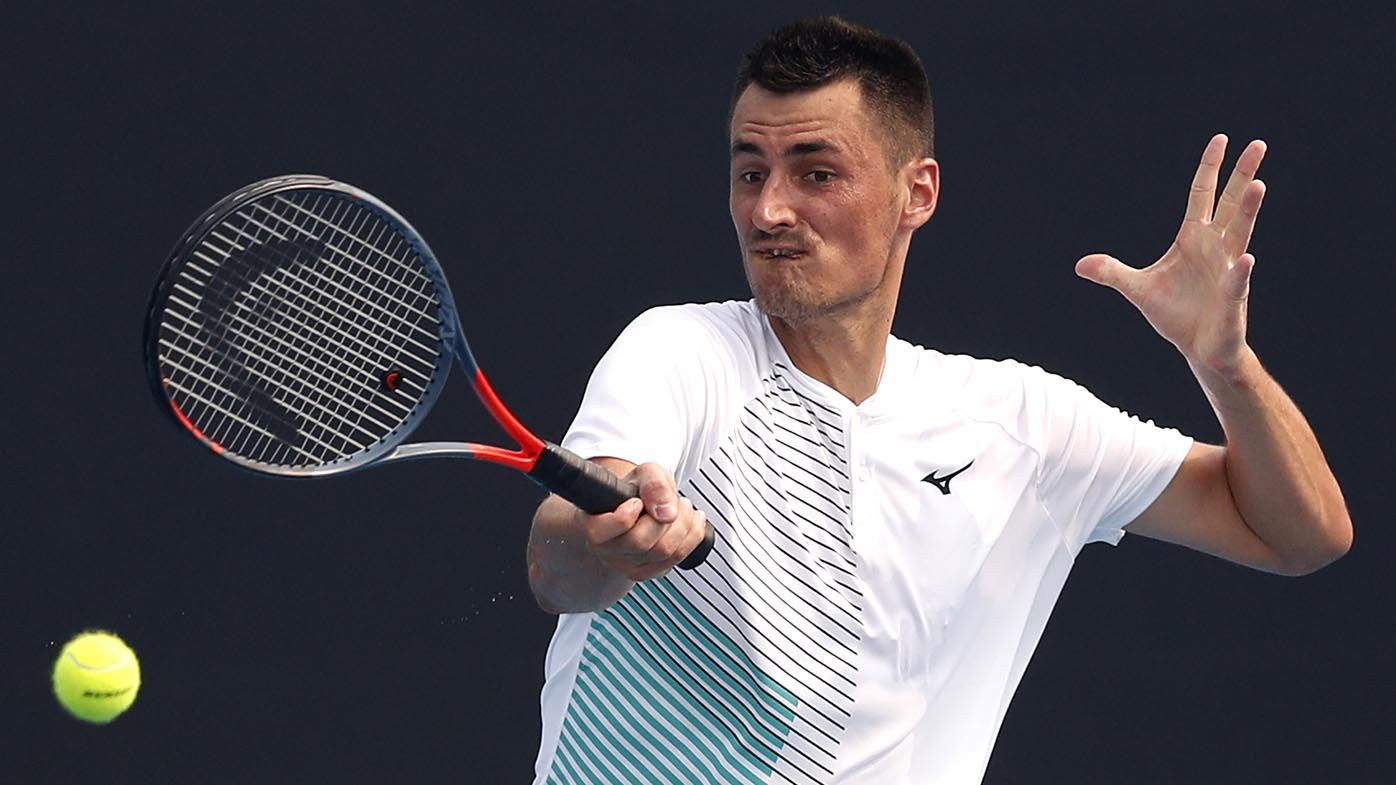 Bernard Tomic 'risks his life' qualifying for Australian Open then blasts critics