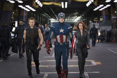 <b><a href=/movie/43194/the-avengers><i>The Avengers</i></a></b> is out April 25. Watch the newest trailer on the next slide!
