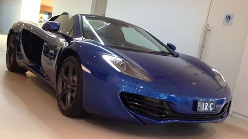 This McLaren Spyder was the only one of its type and colour in Australia.