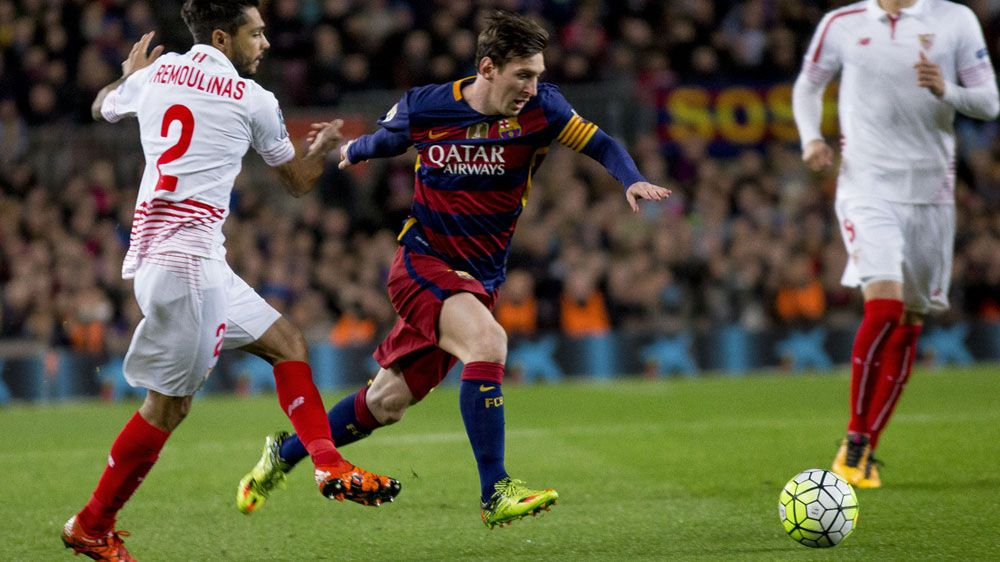 Messi scores in Barcelona's La Liga win