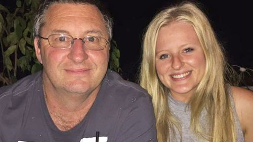 Patrick Hildebrandt, pictured with his daughter, Amy.