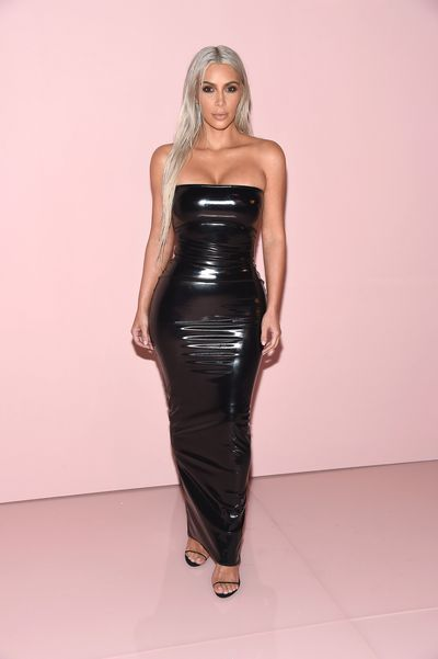 Kim Kardashian at Tom Ford, ready-to-wear, spring '18, New York Fashion Week