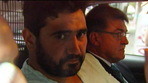 Accused driver Saeed Noori (left).