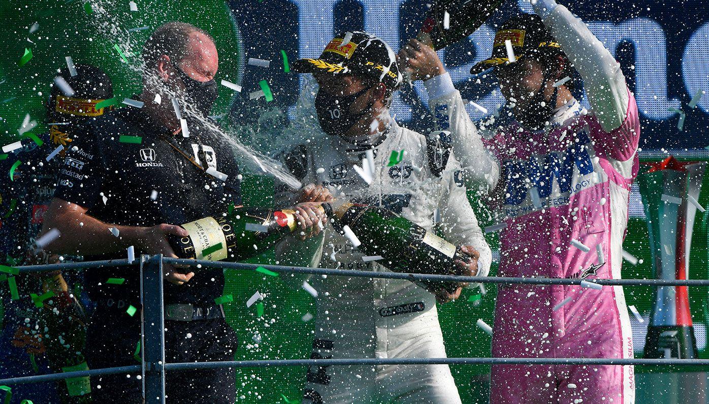F1 world left stunned after AlphaTauri's Pierre Gasly wins 'crazy' Italian Grand Prix