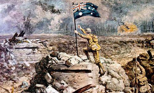 Diggers' bravery in World War I battle recalled in Sydney restaging