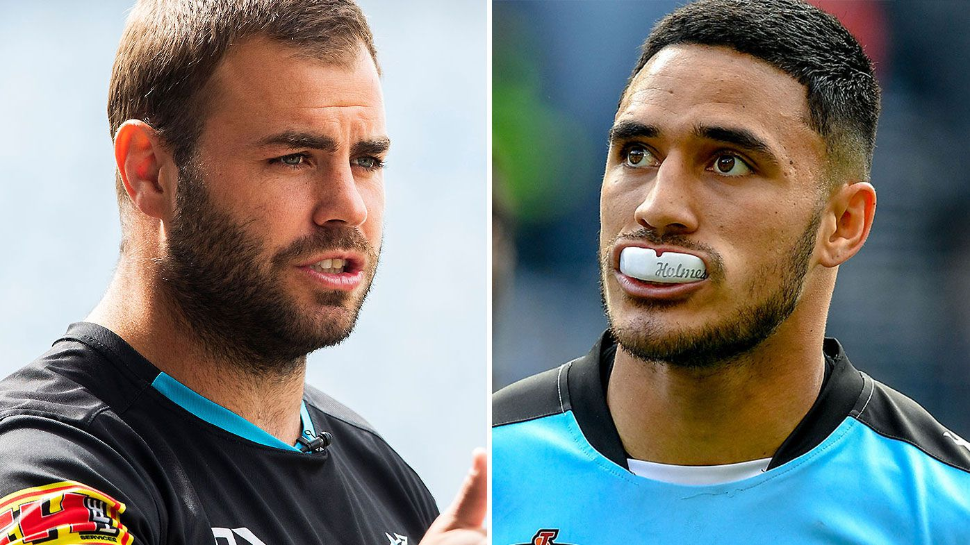 Wade Graham says Valentine Holmes handled Cronulla Sharks exit 'the wrong way' to pursue NFL dream