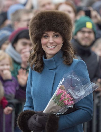 Duchess of Cambridge fur hat