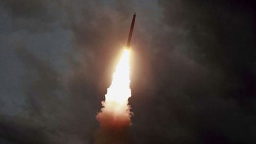 North Korea has test-fired more missiles.