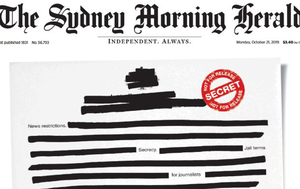 Blank front pages highlight media's right to know campaign