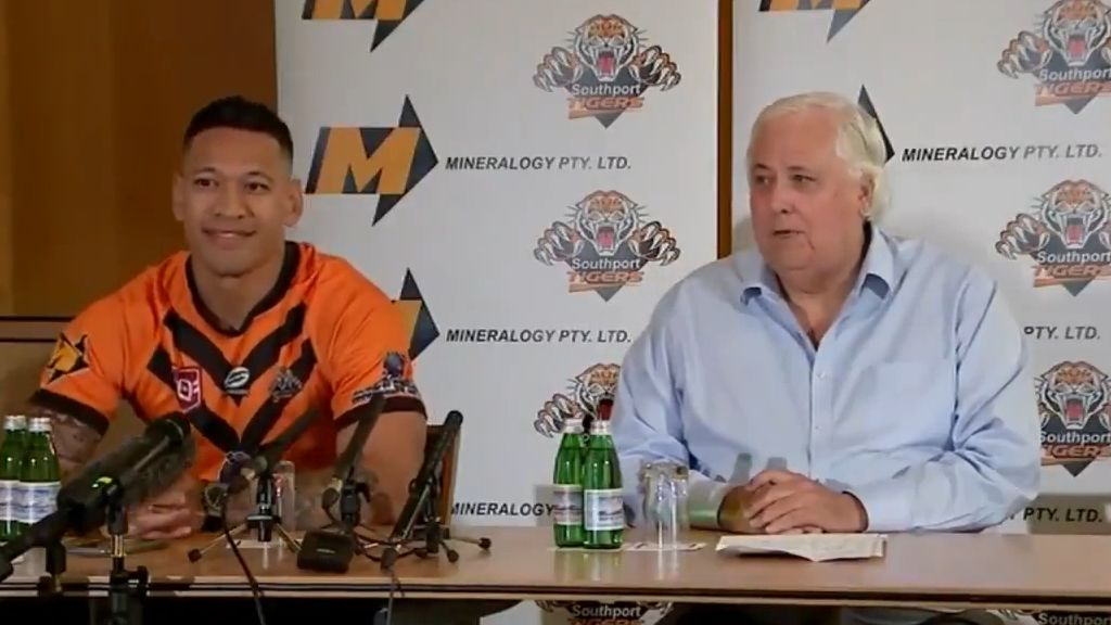 Queensland Rugby League's emphatic 'no' to Israel Folau comeback attempt
