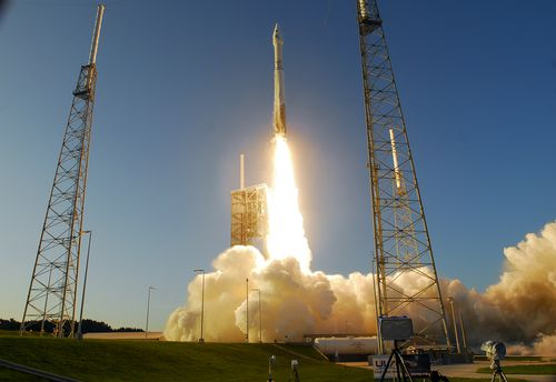 Osiris-Rex launches at Cape Canaveral in 2016.