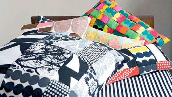 Marimekko woven cushions