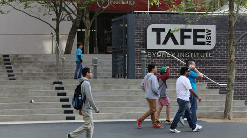 TAFE NSW has said hundreds of thousands of marks had not been put into its student management system. (AAP)
