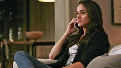 Meghan Markle playing Rachel Zane in TV drama Suits - Season 6