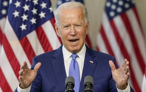 US Election: Joe Biden accuses Donald Trump of 'abuse of power' over Supreme Court stoush
