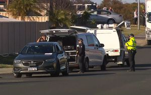 Man in custody after body found on Eaton street in 'very confronting scene'