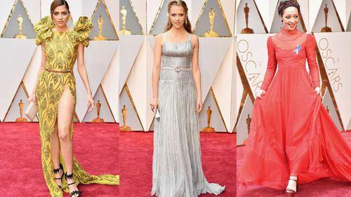 Stars (L-R) Blanca Blanco, Teresa Palmer and Ruth Negga hit the red carpet.