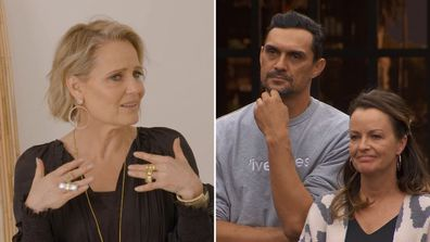 Andy and Deb on their studio bedroom and making Shaynna Blaze cry