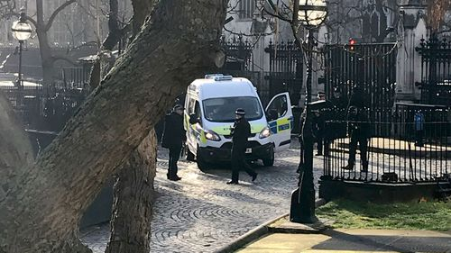 Man arrested after being tasered at London's Houses of Parliament in Westminster