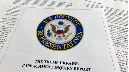 The report from Democrats on the House Intelligence Committee on the impeachment inquiry into President Donald Trump.