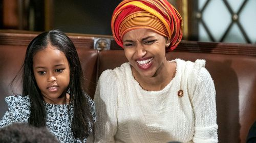Rep Ilhan Omar, a freshman Democrat representing Minnesota's 5th Congressional District.